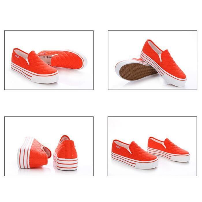 Chaussures Femme En Cuir Véritable Chaussures De Sport Qualité Supérieure Ultra Confortable Plate-Forme Chaussures Femmes