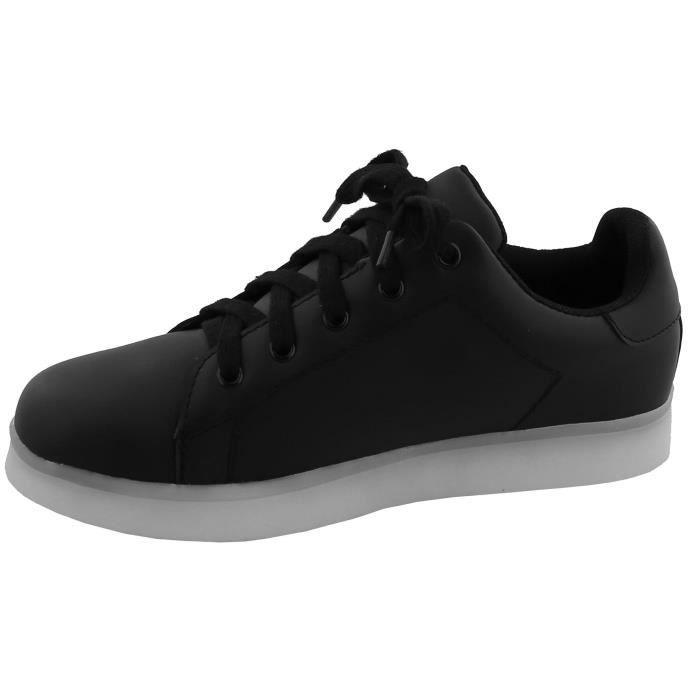 Led Light Up Classic Lace-up Platform Fashion Sneaker XDPG6 Taille-39 1-2 w7XfY3
