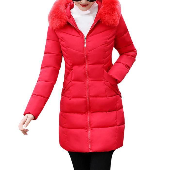 Slim En D'hiver Les Chaud Capuchon Femmes Veste Épais Fausse À Pageare4180 Long Fourrure Manteau IRqqPwn41