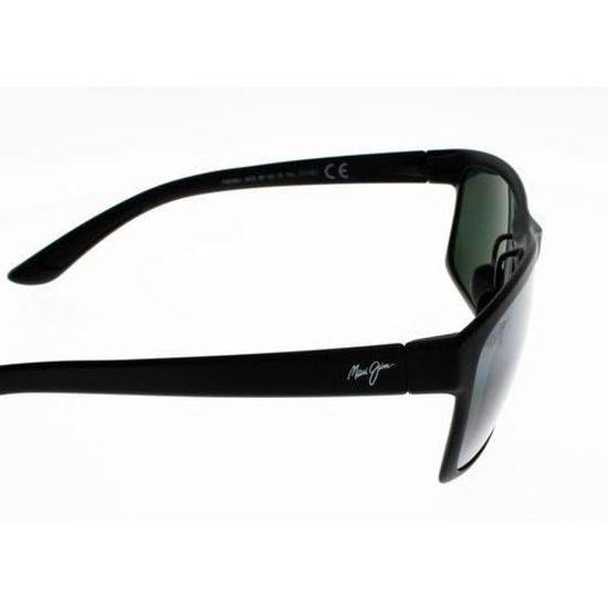 MAUI JIM POKOWAI ARCH Noir mat Mixte Indice 3 POLARIZEDPLUS 2 - Achat    Vente lunettes de soleil Mixte Adulte - Soldes  dès le 9 janvier ! Cdiscount 30382f196564