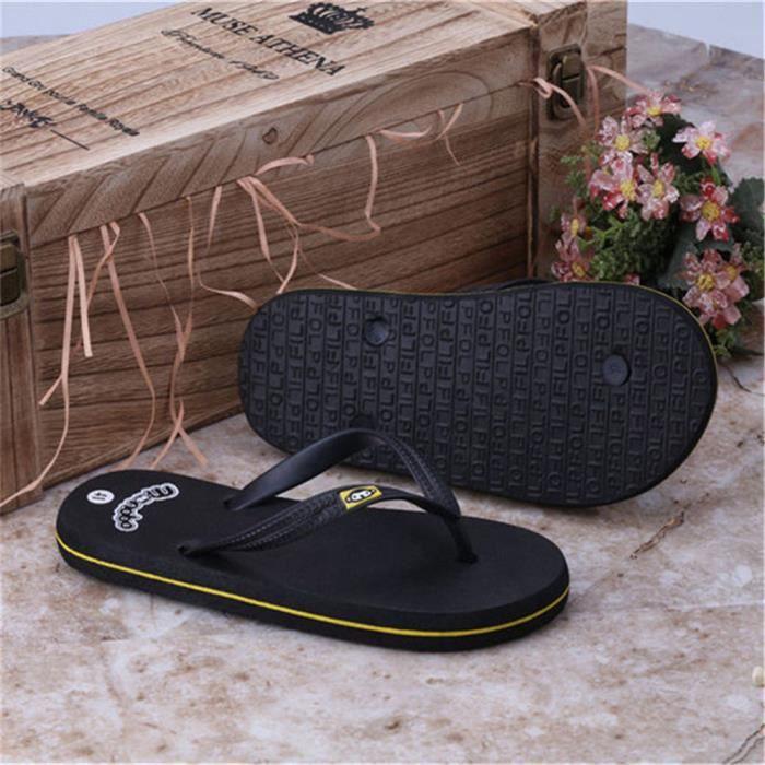 D'été Flip Flops Hommes Motif De Singe Cool Pantoufles De Plage Mode Pantoufles Occasionnels Plage Sandales Pour Homme Chaussures WI739bpzVD