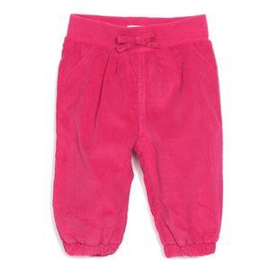 BÉBÉ R?VE TEXTILE Pantalon Velours - Framboise