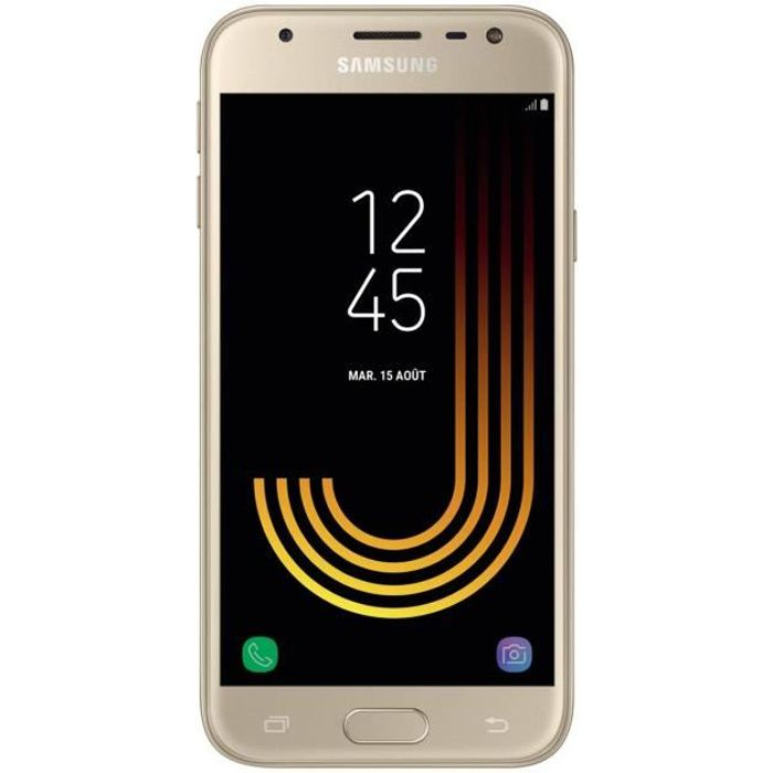 samsung galaxy j3 2017 or achat smartphone pas cher. Black Bedroom Furniture Sets. Home Design Ideas
