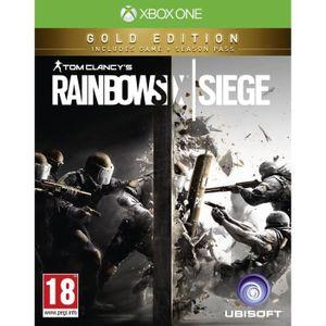 JEUX XBOX ONE Rainbow Six Siege Edition Gold Jeu Xbox One