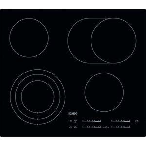 PLAQUE VITROCÉRAMIQUE  HK654070IB AEG table de cuisson vitrocéramique, 58