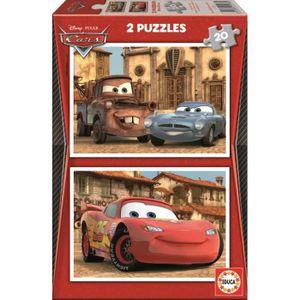 PUZZLE CARS Puzzle 2 x 20 Pièces