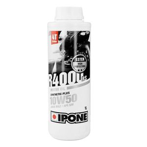 HUILE MOTEUR IPONE HUILE IPONE 4T R4000 RS SEMI-SYNTHESE 10W50