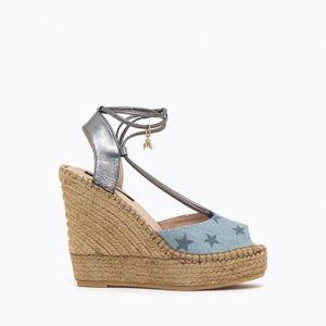 ESPADRILLE Chaussures Sandale Espadrille de 2 pièces de Patri