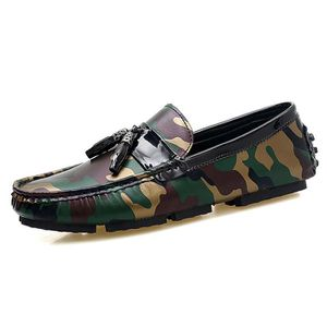 MOCASSIN Chaussure Mocassins Homme - Classic Oxford Camoufl