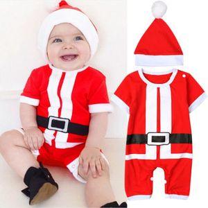 8ec05003d8256 Ensemble de vêtements Nouveau-né Bébé Fille Garçon de Noël Costume Père