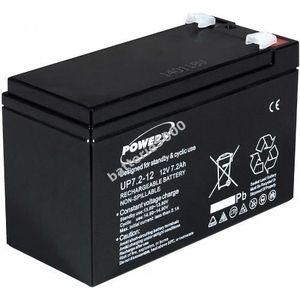 BATTERIE VÉHICULE Batterie gel-plomb Powery pour USV APC Back-UPS...
