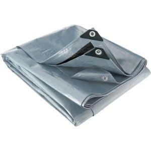 BACHE Bâche multifonctions grise et noire 200 g-m2 Werka