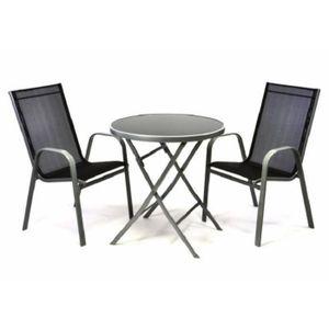 Table pliante en verre - Achat / Vente pas cher