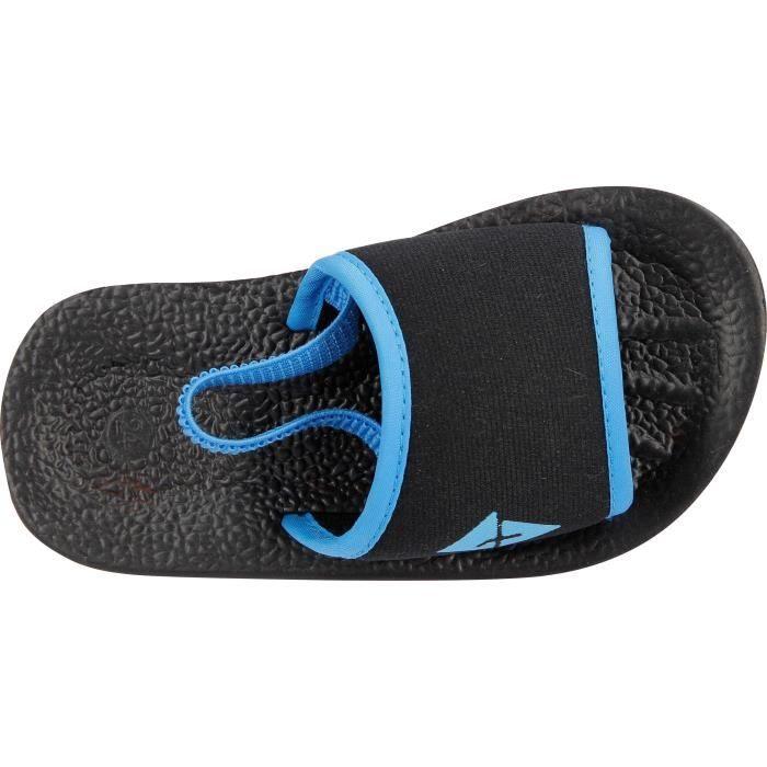 ATHLITECH Sandalettes de piscine Grisou 4 - Bébé - Noir et bleu