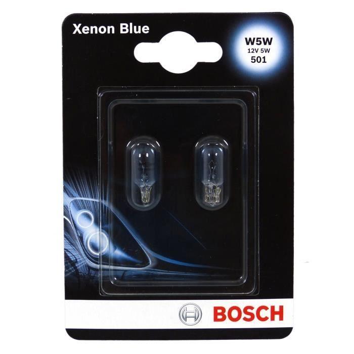 BOSCH Ampoule Xenon Blue 2 W5W 12V 5W