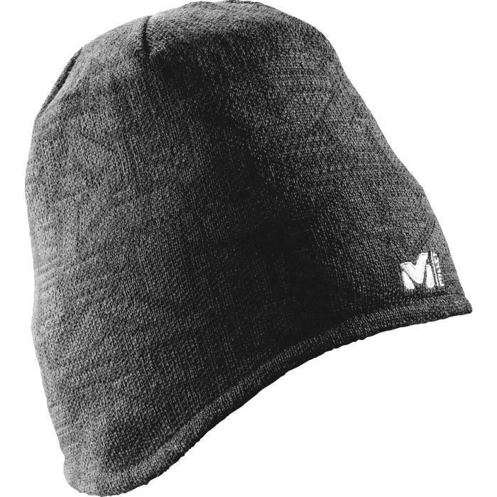 MILLET Bonnet Tellim Wool Ear Flap Noir Adulte