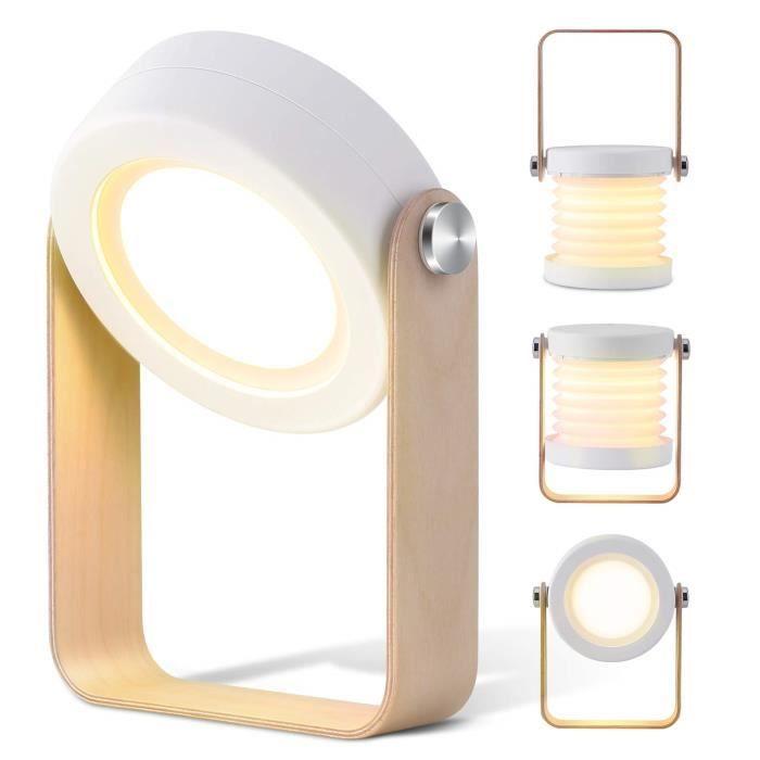 3 Lampe Tactile Mode Veilleuse De Sans Chevet Rechargeable Led Table Avec Mubytree Lumière Fil Lc354AqRj