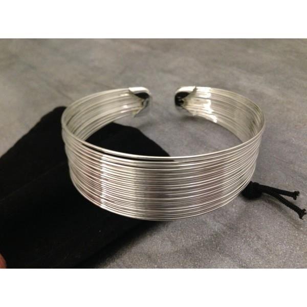 Bracelet Jonc Argent 925 Femme