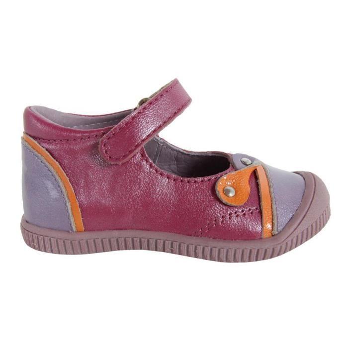 Chaussures pour Fille KICKERS 355081-11 NOLITA LILAS ORANGE