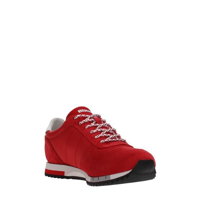 40 RED USA Homme RED Sneakers USA Blauer Sneakers 40 Blauer Homme USA Sneakers Blauer wTxRpq