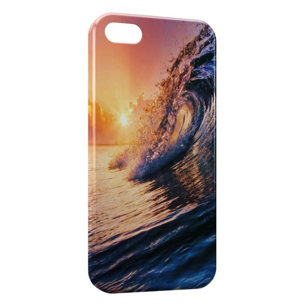 coque vague iphone 7