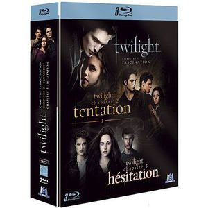 DVD FILM Blu-Ray Coffret Twilight : fascination : tentat...