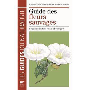 LIVRE NATURE Guide des fleurs sauvages