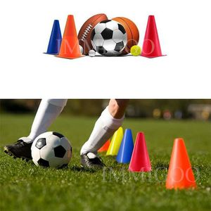 BALISAGE - CONE - PLOT Lot de 5 PCS 18cm Marquage de football Cônes de Fo