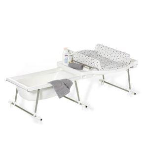 table langer avec baignoire b b achat vente table. Black Bedroom Furniture Sets. Home Design Ideas