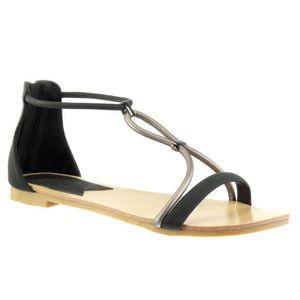 SANDALE - NU-PIEDS Angkorly - Chaussure Mode Sandale salomés femme la