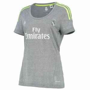 MAILLOT DE FOOTBALL Maillot REAL MADRID A JSY W Femme Gris S12628