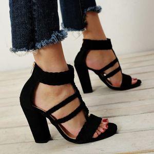 ESCARPIN Napoulen Les femmes dames Hoof talons sandales Pee fab5277f1a75