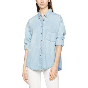 9e9ad51d2f1 CHEMISIER - BLOUSE Denim Surchemise blouse de la femme 1BSYDX Taille-