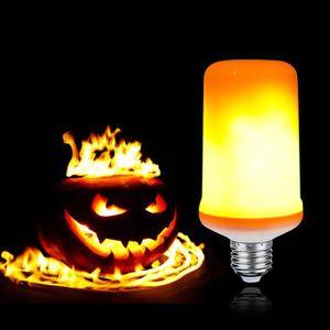 AMPOULE - LED Ampoule LED Flamme E27 effet de Flamme Brûlant Amp