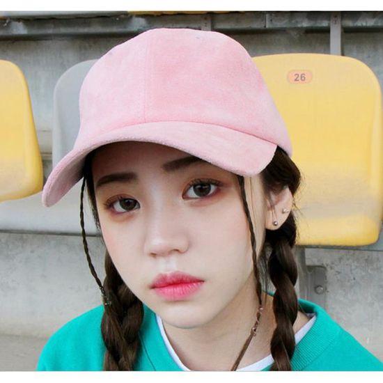 Casquette Femme Corée Baseball Polo Hip-Hop ch... pourpre claire - Achat    Vente casquette - Cdiscount 53b8bd6111ec