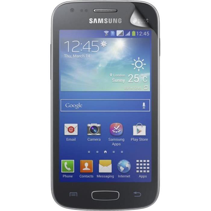 BIGBEN Lot 2 protège-écrans One Touch pour Samsung Galaxy Ace 3 S7270 - Transparent