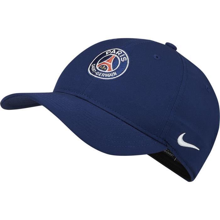 NIKE Casquette PSG CAP 19 - Adulte - Bleu