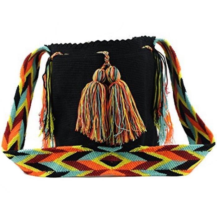 Wayuu Sac - Grand Mochila - solide - 2176 JTU1M