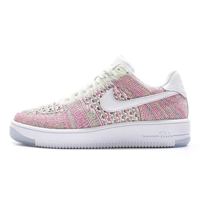 chaussure nike air force 1 flyknit low pour femme