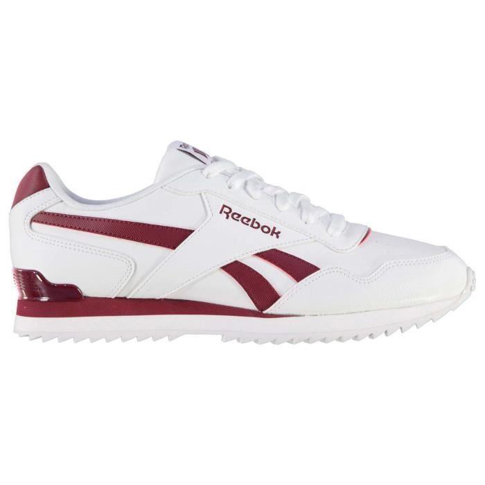 Reebok Homme Chaussures De Sport Blanc Blancbordeaux