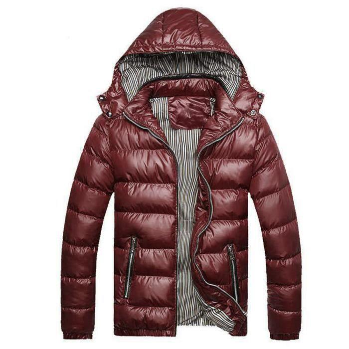 Chaud Amovible Manteau Coton D'homme D'hiver En Chapeau Veste pY1zwpq