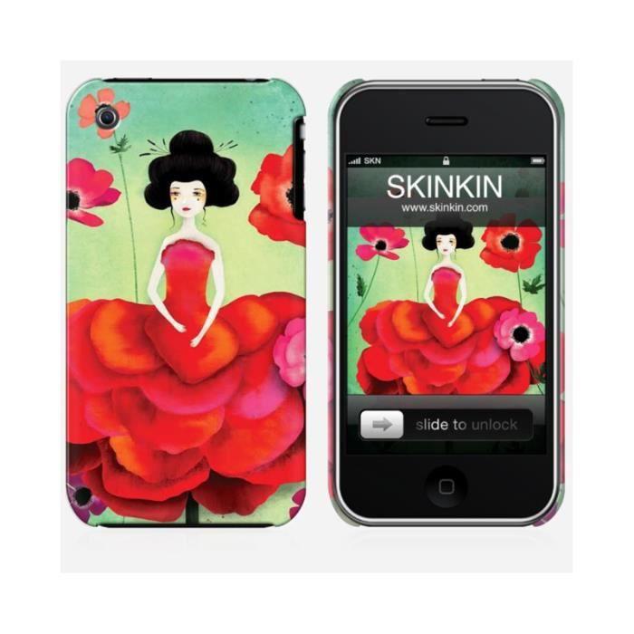 coque iphone x anemone