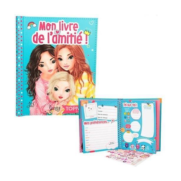 Connu Mon livre de l'amitié TOPModel TOPFriends Liv, Jenny et Lexy  UG87