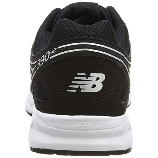 New Balance M390bw2 extra large 4E Largeur Poids léger Noir chaussures Trainer 3WFAVH Taille 44