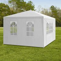 TONNELLE - BARNUM Tente de réception - 3 x 4 M - Avec auvent - Pour
