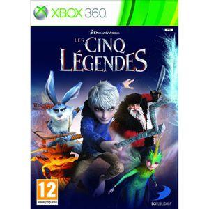 JEU XBOX 360 LES CINQ LÉGENDES / Jeu console XBOX 360