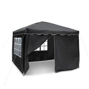 tonnelle noir achat vente pas cher. Black Bedroom Furniture Sets. Home Design Ideas