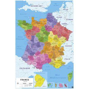 Carte De France Achat Vente Pas Cher Cdiscount