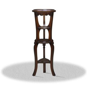 TABLE D'APPOINT Casa Padrino Baroque Side Table 35 x 35 x H. 110 c