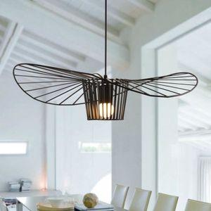 LUSTRE ET SUSPENSION EXBON Lampe de Plafond E27 Abat-jour Métal 20,5*25